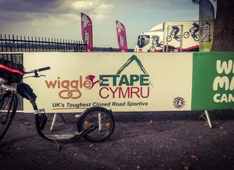 Kickbiking the Etape Cymru