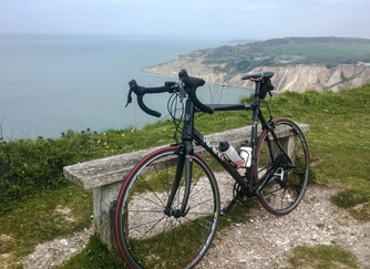 Cycling around the Isle of Wight