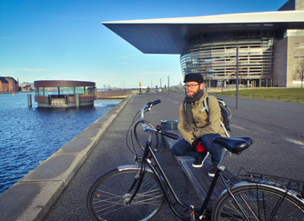 Cycling around Copenhagen