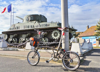 Cycling along the D-Day Landing Beaches