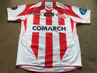 Travels with my football shirts: KS Cracovia