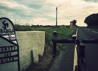 Cycling around the Isle of Man TT Course