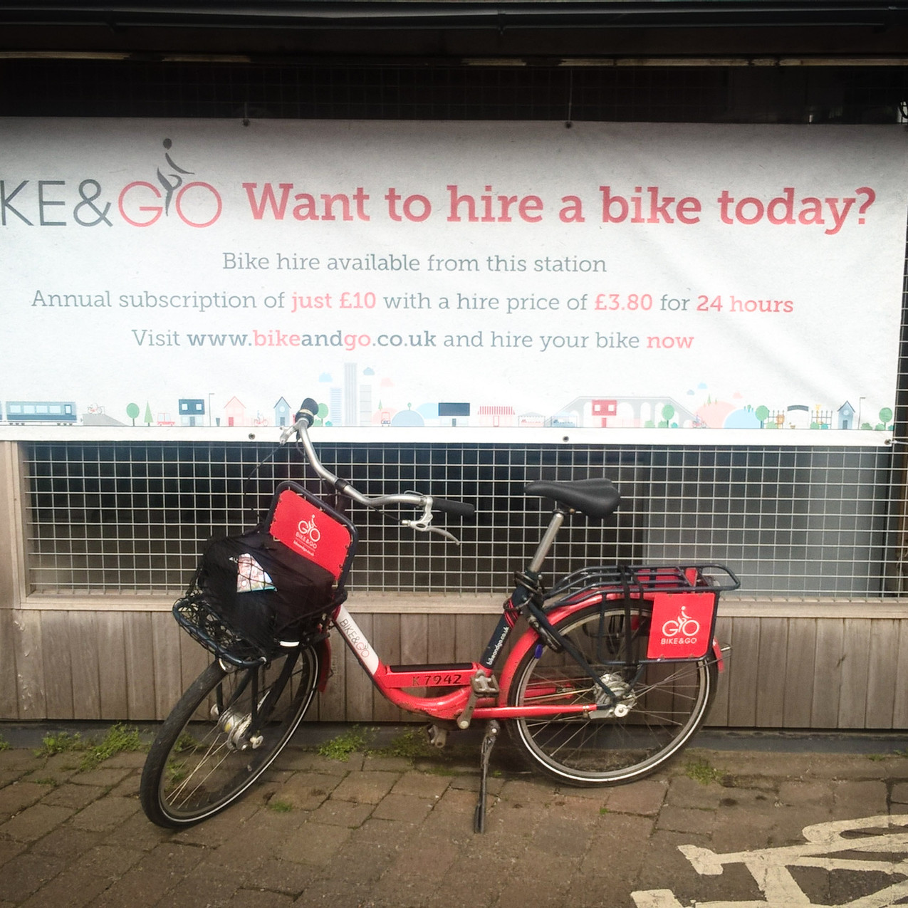 Manchester Oxford Road Bike&Go