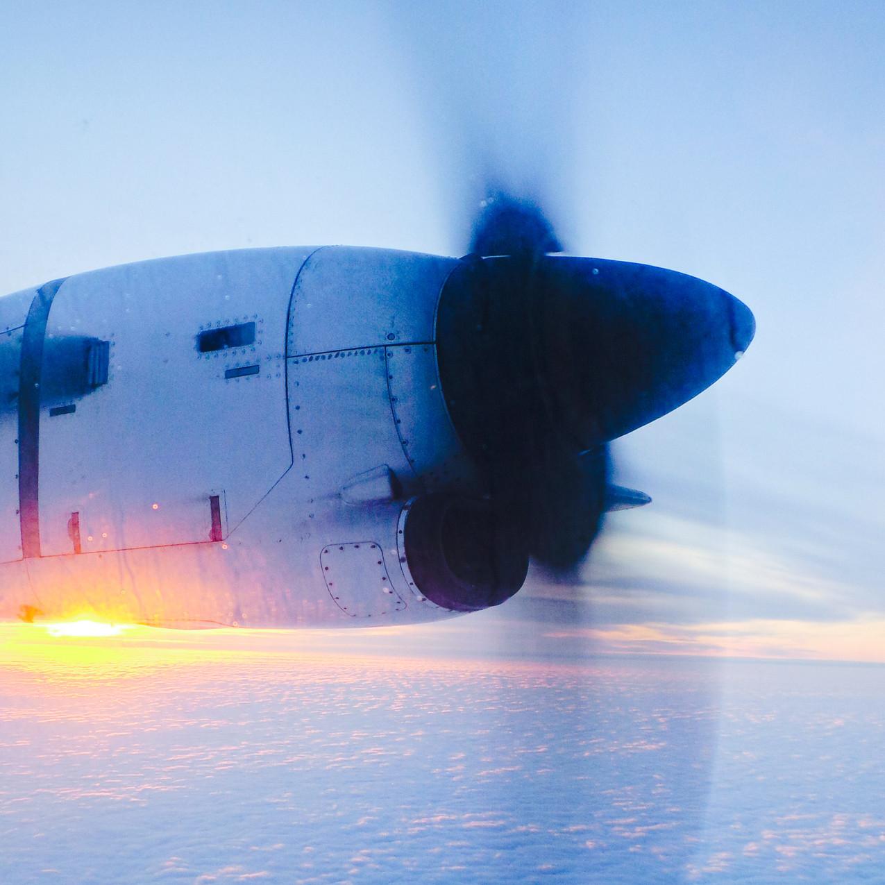 Flying to Kajaani