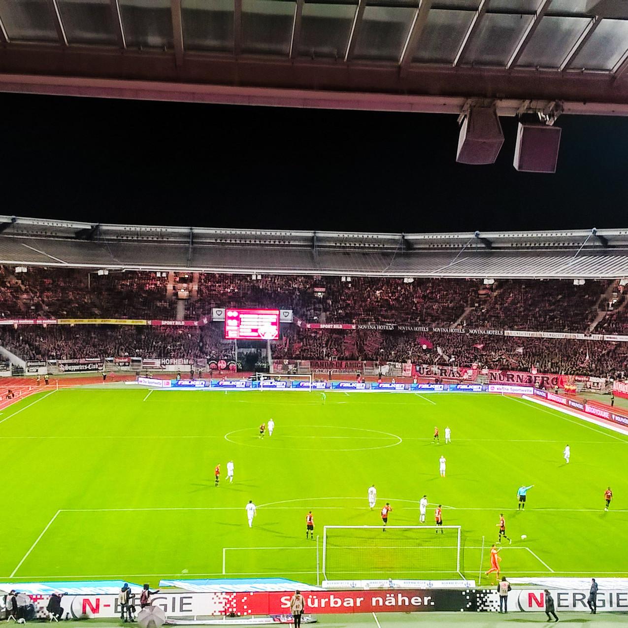 FC. Nuremberg vs. Wurzburger Kickers