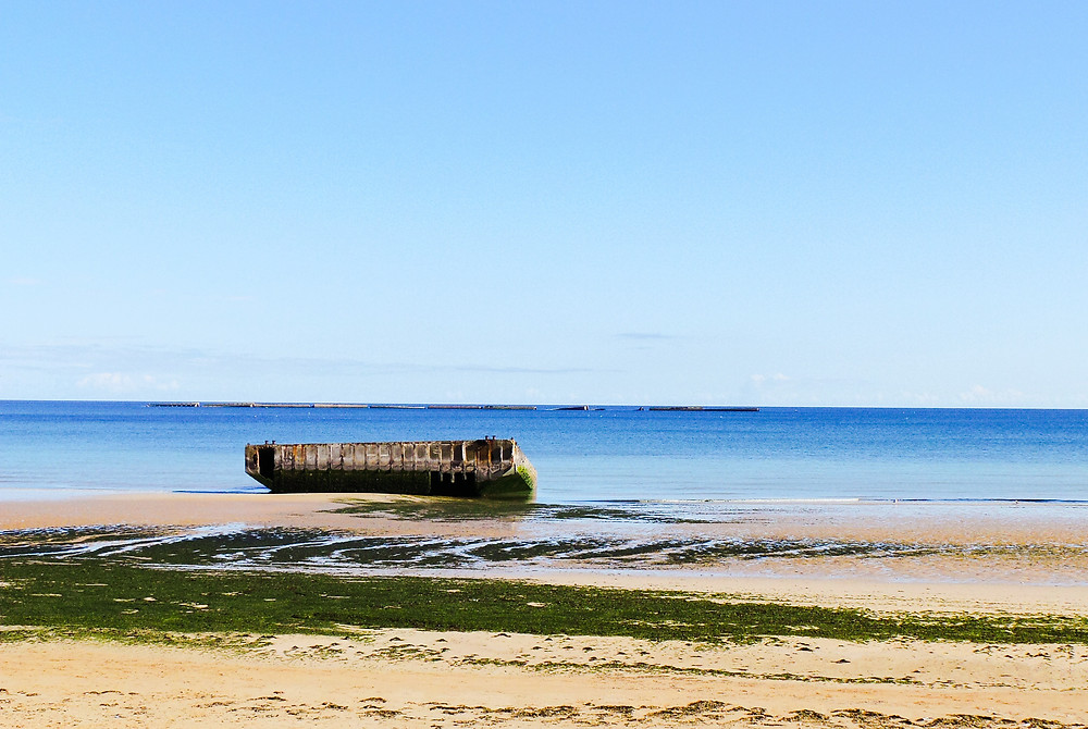 Mulberry Harbours, Arromanches