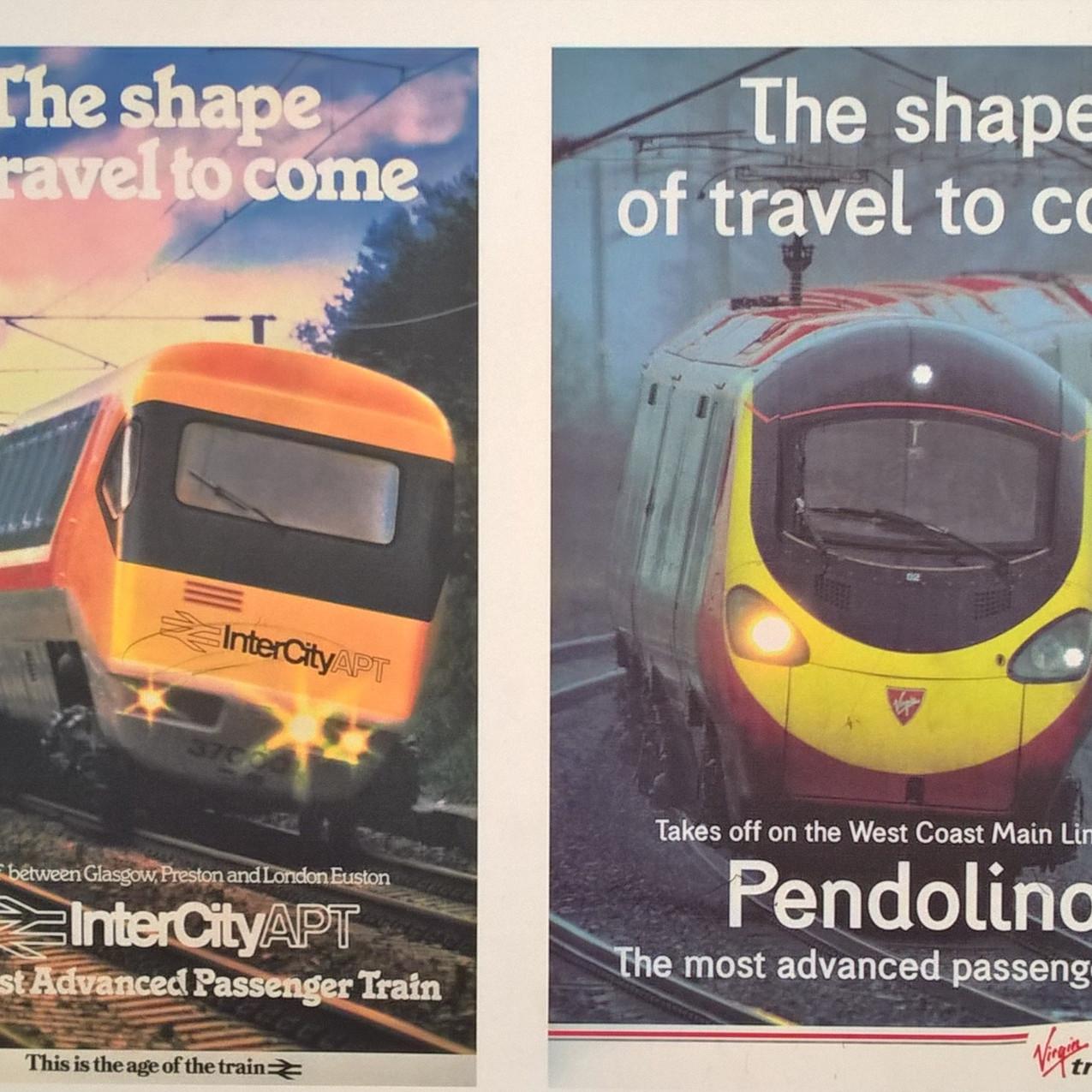 APT technology led to the Pendolino
