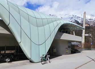 Riding railways and bikes in Innsbruck