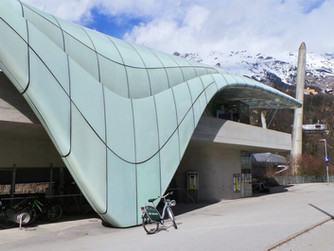 Riding railways and bikes in Innsbruck