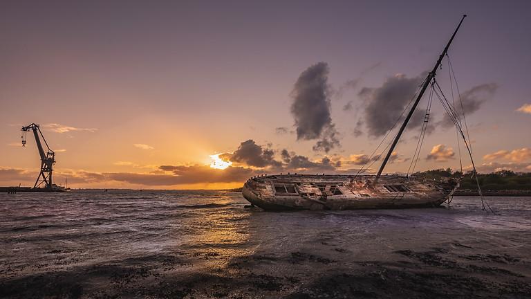 Tipner Shipwreck Landscape Photography