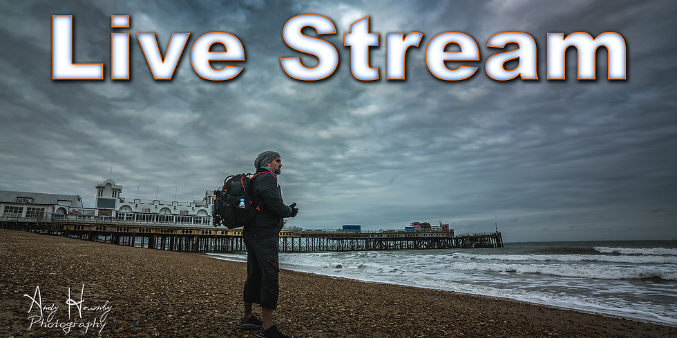 Photography - Staying connected and talking via Live Stream