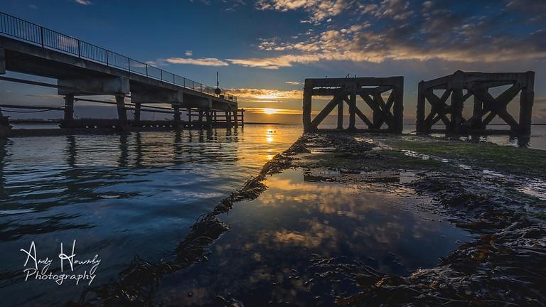 Eastney Pier Sunrise Photo Walk (Dec-2020)