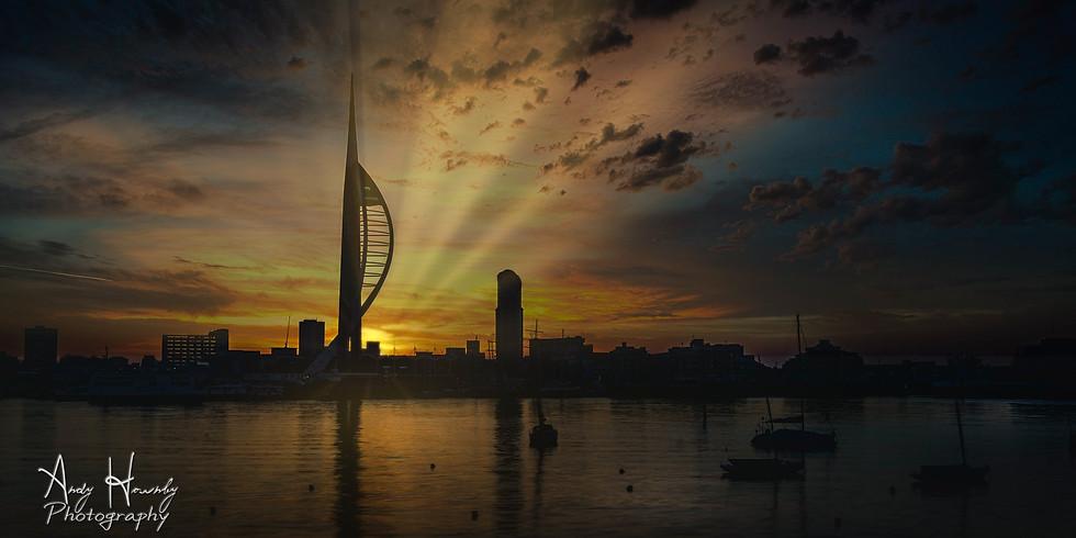 Spinnaker Tower Sunrise Photo Walk (Mar-2020)