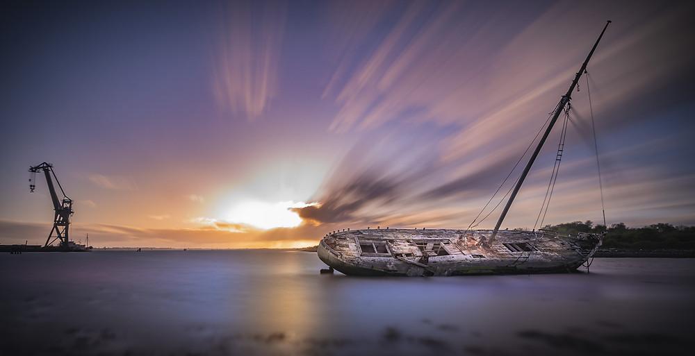 Tipner Shipwreck Portsmouth
