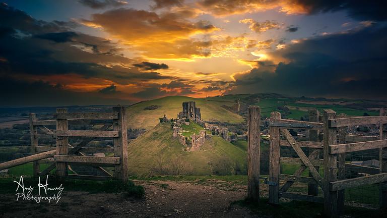 Landscape Photography Workshop Corfe Castle 21/08/21