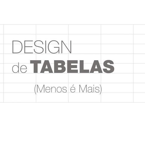 Design de Tabelas   Melhores Práticas