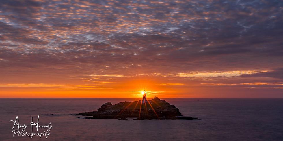 Godrevy Lighthouse Sunset Photo Walk FREE (Mar-2020)