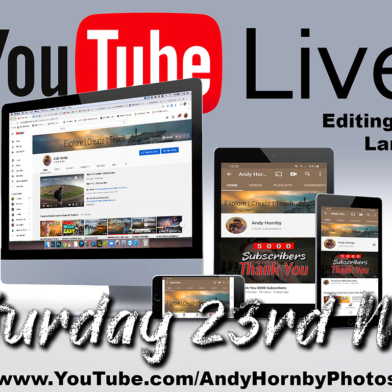 Andy's Lockdown Editing Session (Including YOUR images)