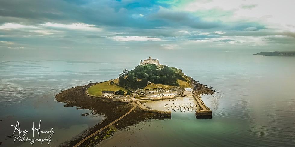 Cornish Double Workshop - St Michael's Mount & Godrevy Lighthouse