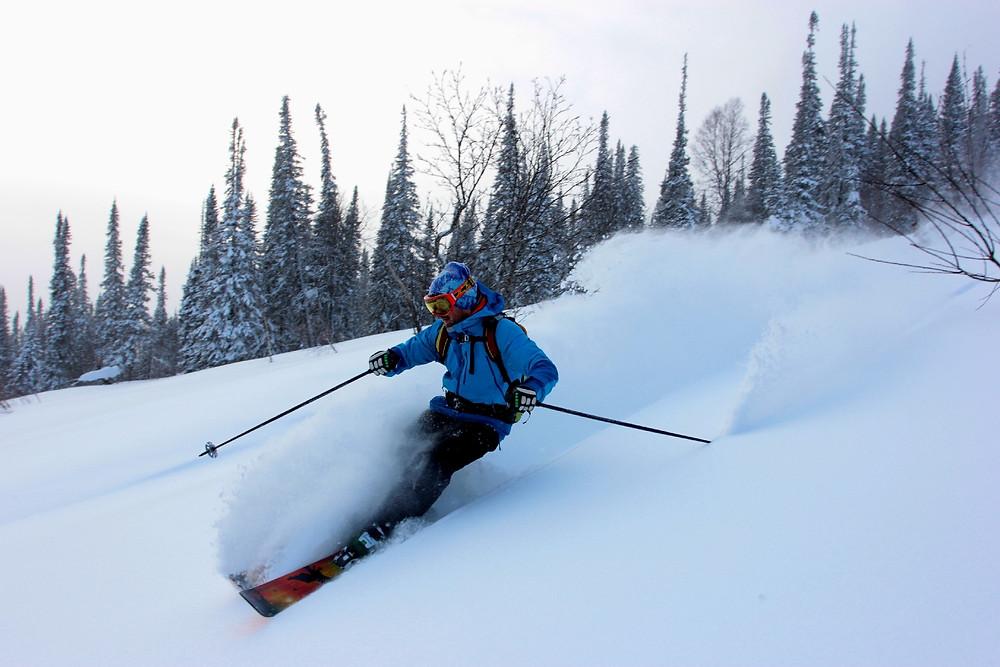 Школа Фрирайда на лыжах #doswitchride