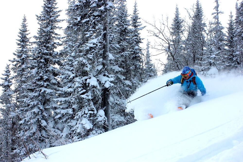 Школа Фрирайда на лыжах! Шерегеш, ноябрь 2020.