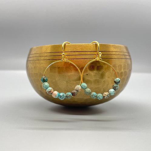 Amazonite Goddess Earrings