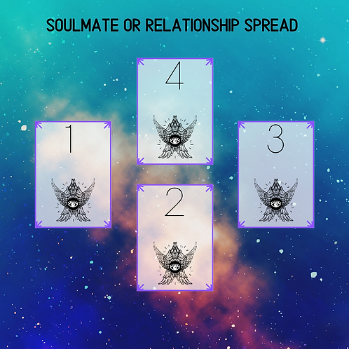 Soulmate or Relationship Spread