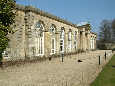Blenheim Palace Orangery and Kitchen Court