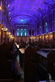 Royal Holloway Chapel Lighting