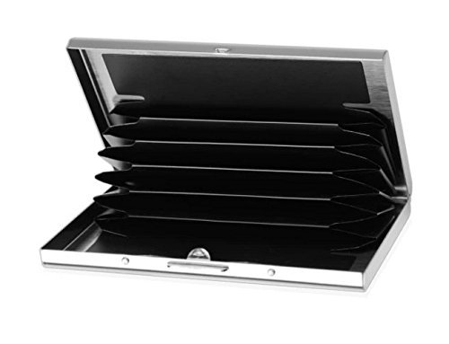 Stainless Steel Card Holder Slots