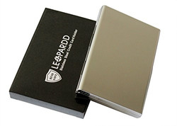 Stainless Steel Card Holder with box
