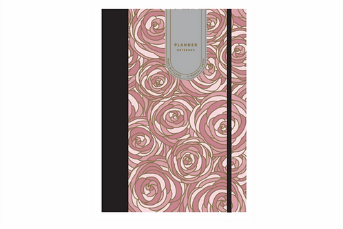 Grasse Roses Recycled Planner