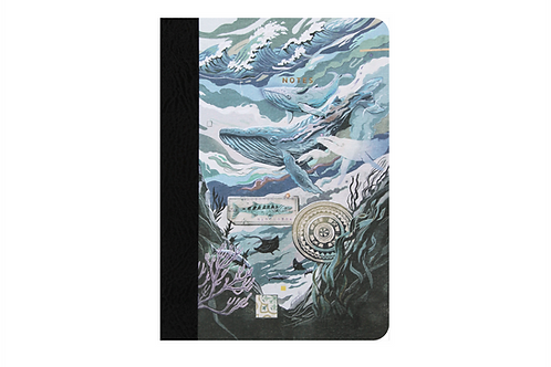 Caribbean Recycled Notebook