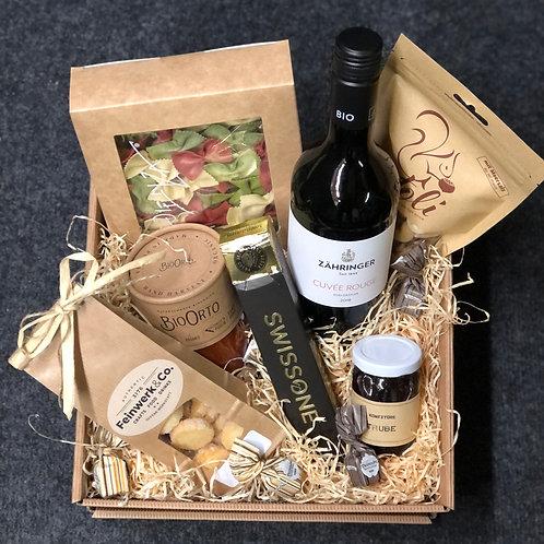 Geschenkbox L - mit Alkohol