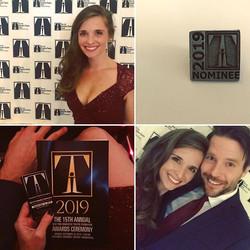 Innovative Theatre Awards, NYC 2019
