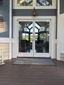 Store Front Doors - Clubhouse  Cornelius