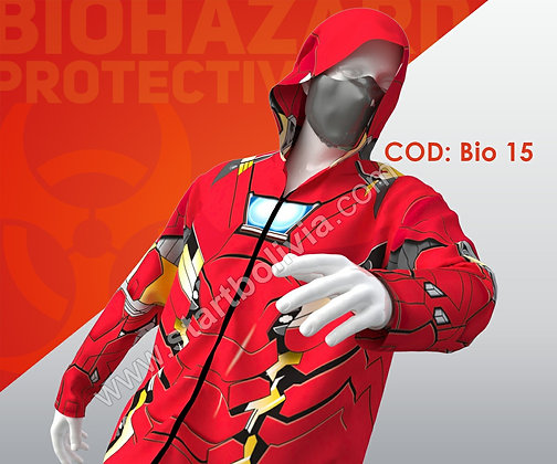 Jacket Bio Iron Man