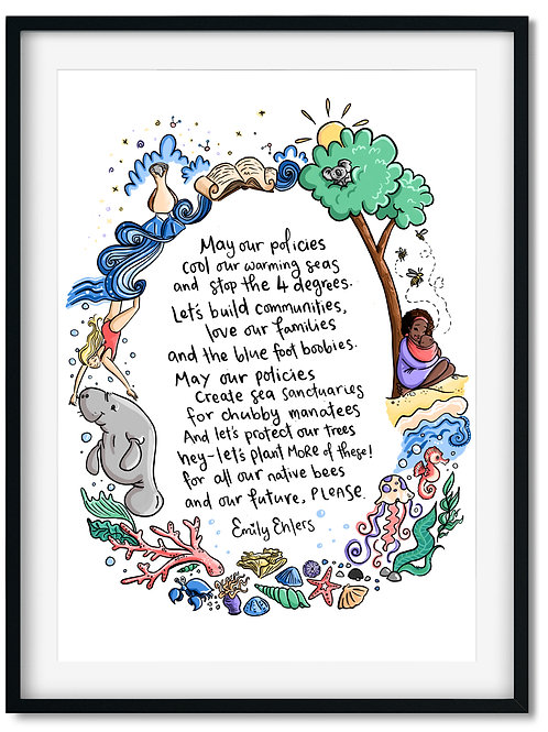 The Please Poem Print