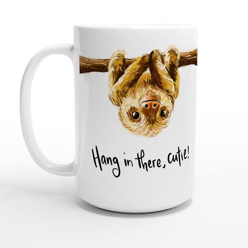 The Sloth Life Mug