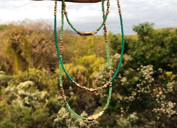 Inti Collar Green