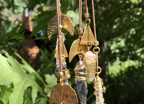Boho Crystal Necklaces