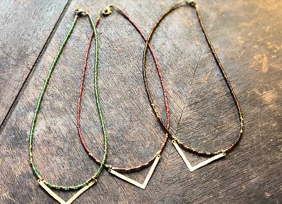 Shield Necklaces