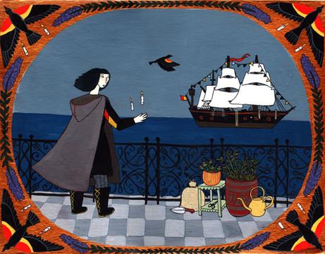 Blackbird Witch Vignette