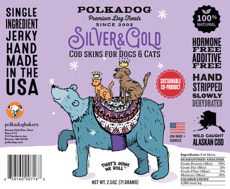 Silver and Gold, Package Design