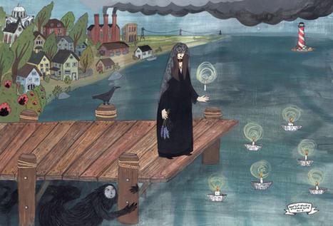 Boardwalk Witch