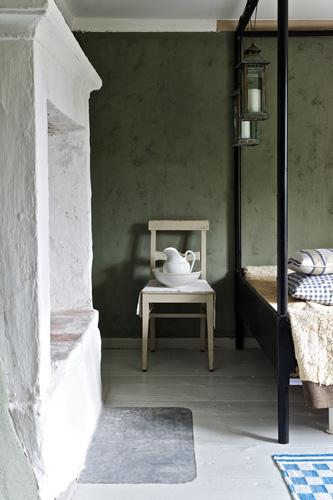 Gården i skogen - Sovrummet