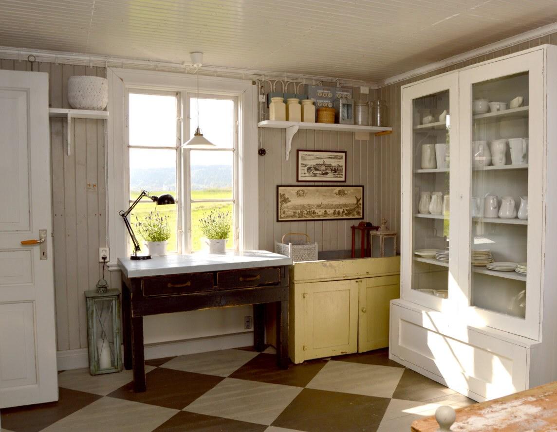 Huset på slätten - Köket