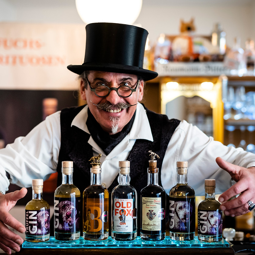 Tasting Fuchs Spirituosen (Gin/Whisky) & Schokolade