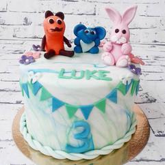 #birthdaycake #fondant #handwerk  #fanny