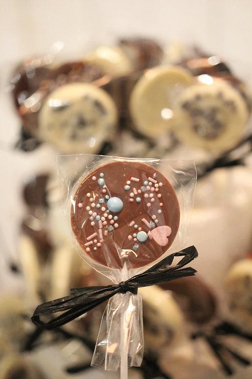 Schokoladenlolli